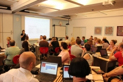 The first workshop for Croatian teachers