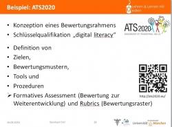 Short presentatin of ATS2020 at the conference (Aus)Bildungskongress der Bundeswehr