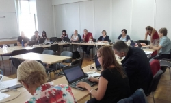 Strategic team meeting at the National Education Institute of Slovenia